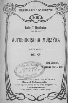 Booker T. Washington - Autobiografia Murzyna.djvu