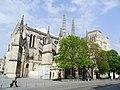 Bordeaux (33) Cathédrale Saint-André Flanc sud de la nef 01.jpg