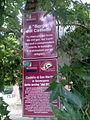 Borgo del castello tourist signs (San Martino in Soverzano, Minerbio).jpg