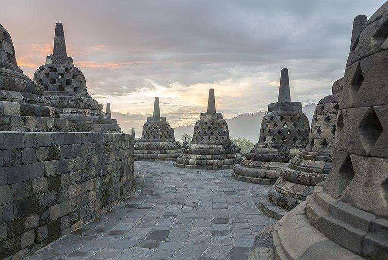 Borobudur-Temple-Park Indonesia Stupas-of-Borobudur-10.jpg