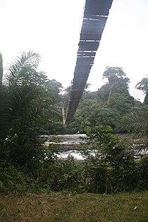 Brücke Eingang Korup.JPG