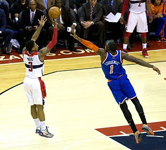 Bradley Beal - Beal in a game against the New York Knicks in 2013.