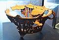 Braser ceràmic, almohade, museu Arqueològic i d'Història, Elx.jpg