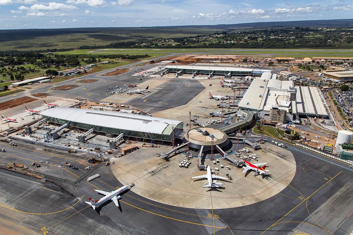 Ver fotos do aeroporto de brasilia