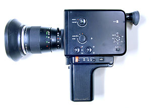 Braun Nizo 800 Super-8 film camera