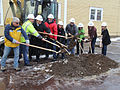 Breaking ground in Sisters (12909801984).jpg