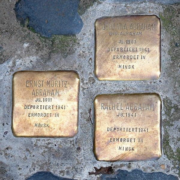 File:Bremen Stolpersteine-01.jpg