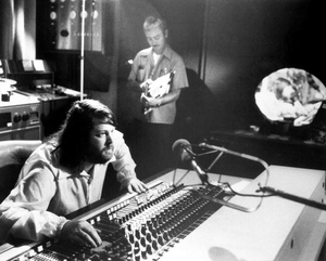15 Big Ones - Brian Wilson behind the mixing board of Brother Studios during a 15 Big Ones session.