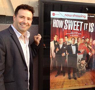 Brian Herzlinger - Image: Brian at Sweet screening
