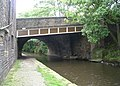 Bridge 1a - Rochdale Canal - near Tuel Lane Lock - geograph.org.uk - 909794.jpg