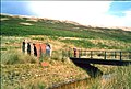 Bridge and workmen's hut - geograph.org.uk - 205975.jpg