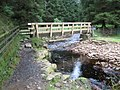 Bridge at Lady Clough on the Snake Path - geograph.org.uk - 959281.jpg
