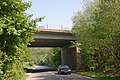 Bridge carrying the A4232 over St Georges road. - geograph.org.uk - 421748.jpg