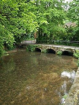 Bridge over the Mill Stream, Dorchester - geograph.org.uk - 809783