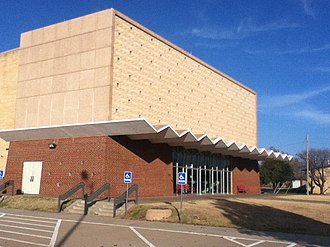 National Register of Historic Places listings in Garfield County, Oklahoma - Image: Briggs Auditorium