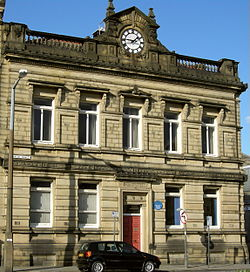 The former Brighouse Town Hall