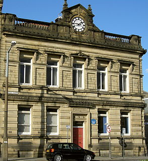 Brighouse town in the Metropolitan Borough of Calderdale in West Yorkshire, England