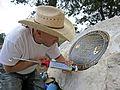 Bright Angel Trailhead Renovation - Setting Plaque - May 18, 2013 - 0185 - Flickr - Grand Canyon NPS.jpg