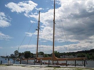 Brilliant (schooner) - Image: Brilliant (schooner)