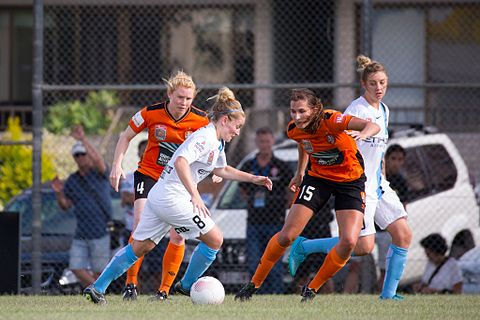 Little during a match against Brisbane Roar, December 2015 Brisbane Roar FC vs Melbourne City FC 2117 (23407127403).jpg