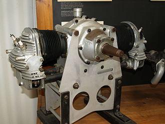 Bristol Cherub - Preserved Bristol Cherub engine