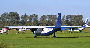 2013 Venezuela Transaereo 5074 Britten-Norman Islander crash - A Britten-Norman BN-2A Islander, similar to the one involved in the crash