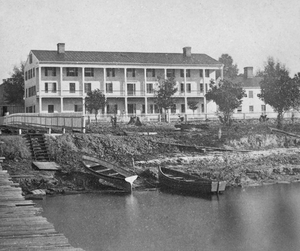 Enterprise, Florida - Brock House in Enterprise, Florida - Circa 1875