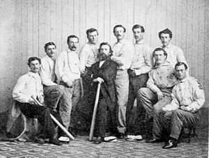 Brooklyn Atlantics - Image: Brooklyn atlantics 1865 team