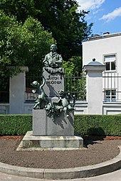 Bruckner-Denkmal in Steyr (Quelle: Wikimedia)