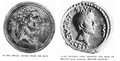 Brutus fibula compared with antique coin.png