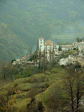Bubión - Bubión from the east