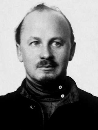 Lev Chernyi - Eminent Bolshevik Nikolai Bukharin, who was wounded in the anarchist attack on the Moscow Communist Party headquarters.