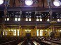 Budapest Große Synagoge Innen Emporen 1.JPG