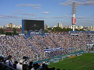José Amalfitani Stadium - Stands and fans in 2007.