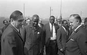 Kenneth Kaunda - Kenneth Kaunda in Frankfurt, West Germany in 1970.