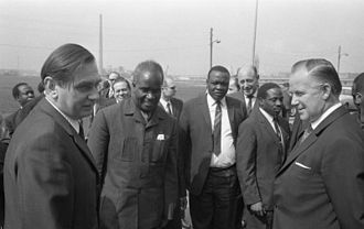 Kenneth Kaunda - Kenneth Kaunda in Frankfurt, West Germany in 1970