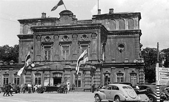 German occupation of Byelorussia during World War II - Belarusian Central Rada, Minsk, June 1943.