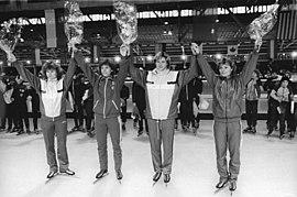Bundesarchiv Bild 183-1988-1126-018, Gabi Zange, Sabine Brehm, Karin Kania, Andrea Ehrig