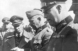 Karl Bodenschatz -  Left to right: Karl Bodenschatz, Walter von Reichenau and Wilhelm Keitel in 1939.