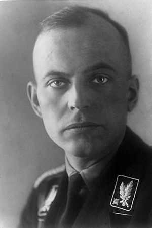 18th SS-Standarte - Hans-Adolf Prützmann, who served as one of the early commanders of the 18th SS-Standarte