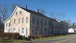National Register of Historic Places listings in Preble County, Ohio - Image: Bunker Hill House in Fairhaven