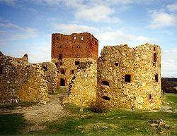 Hammershus Ruin.