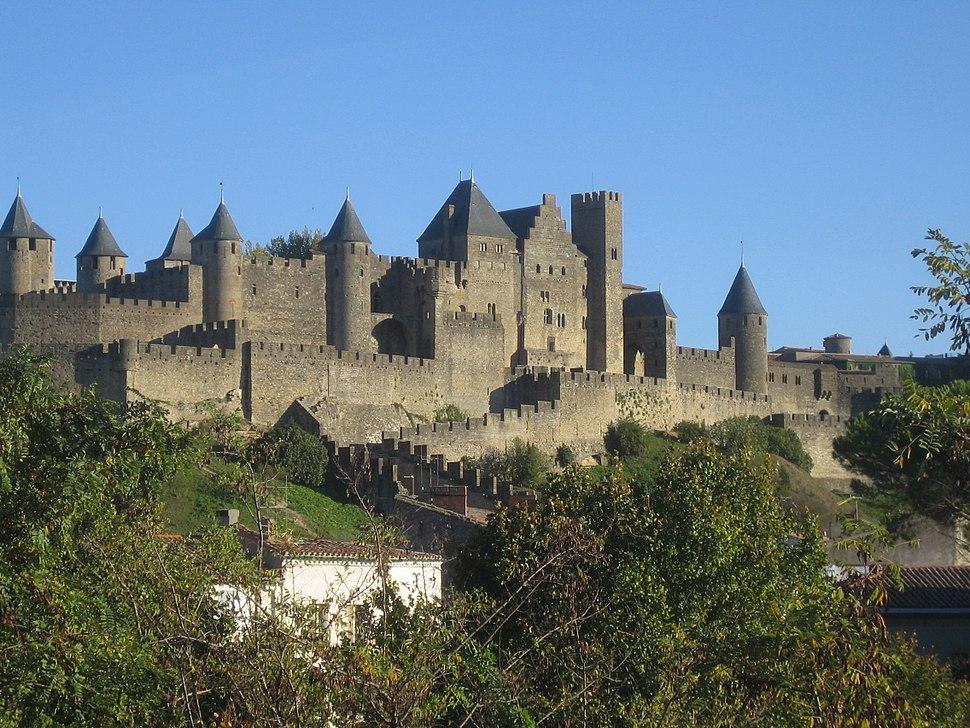 Burg von Carcassonne
