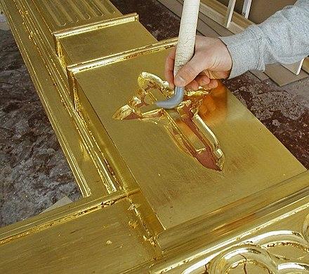 Шлифовка золота