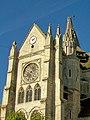 Bury (60), église Saint-Lucien, transept sud-est et tourelle.jpg