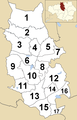 Bury Council Wards Numbered.png