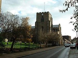 St Mary's Church, Bury St Edmunds - Image: Bury St Edmunds Church of St Mary