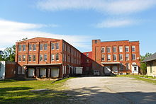 Warehouses by the depot