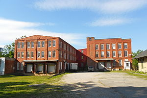 Mount Wolf, Pennsylvania - Warehouses by the depot