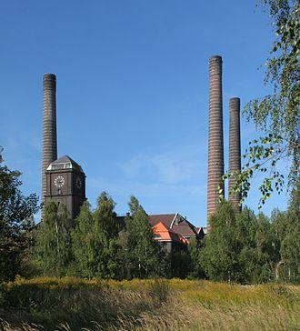 Szombierki Heat Power Station - Image: Bytom Szombierki CHP Szombierki 02